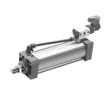 ESCV 标准气缸(带阀气缸)